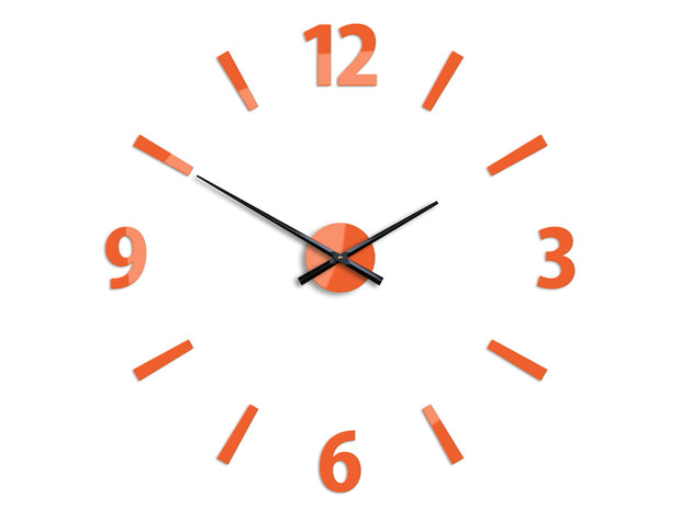 Klaus Orange Wall Clock - schmoo.shop