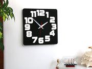 Black & White Wall Clock - schmoo.shop