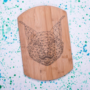 Geometric Lynx Decorative Board - schmoo.shop