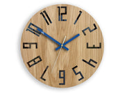 Navy Blue Wall Clock - schmoo.shop