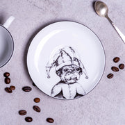 Stylish French Bulldog Cup & Saucer - schmoo.shop