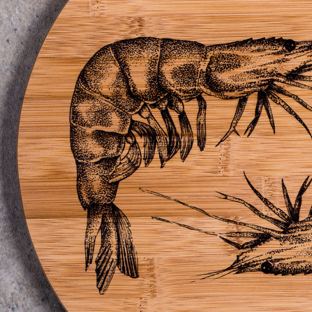 Couple of Prawns Decorative Board - schmoo.shop