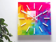 Colourful Wall Clock - schmoo.shop