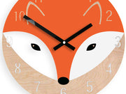 'Little Foxy' Wall Clock - schmoo.shop