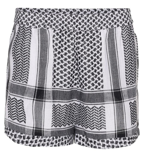 Cecilie | Shorts - White/Black