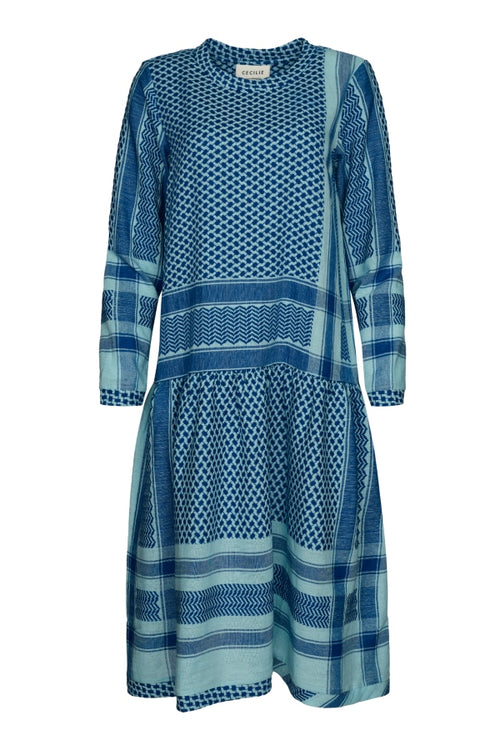 Cecilie | Josefine Dress - Blue