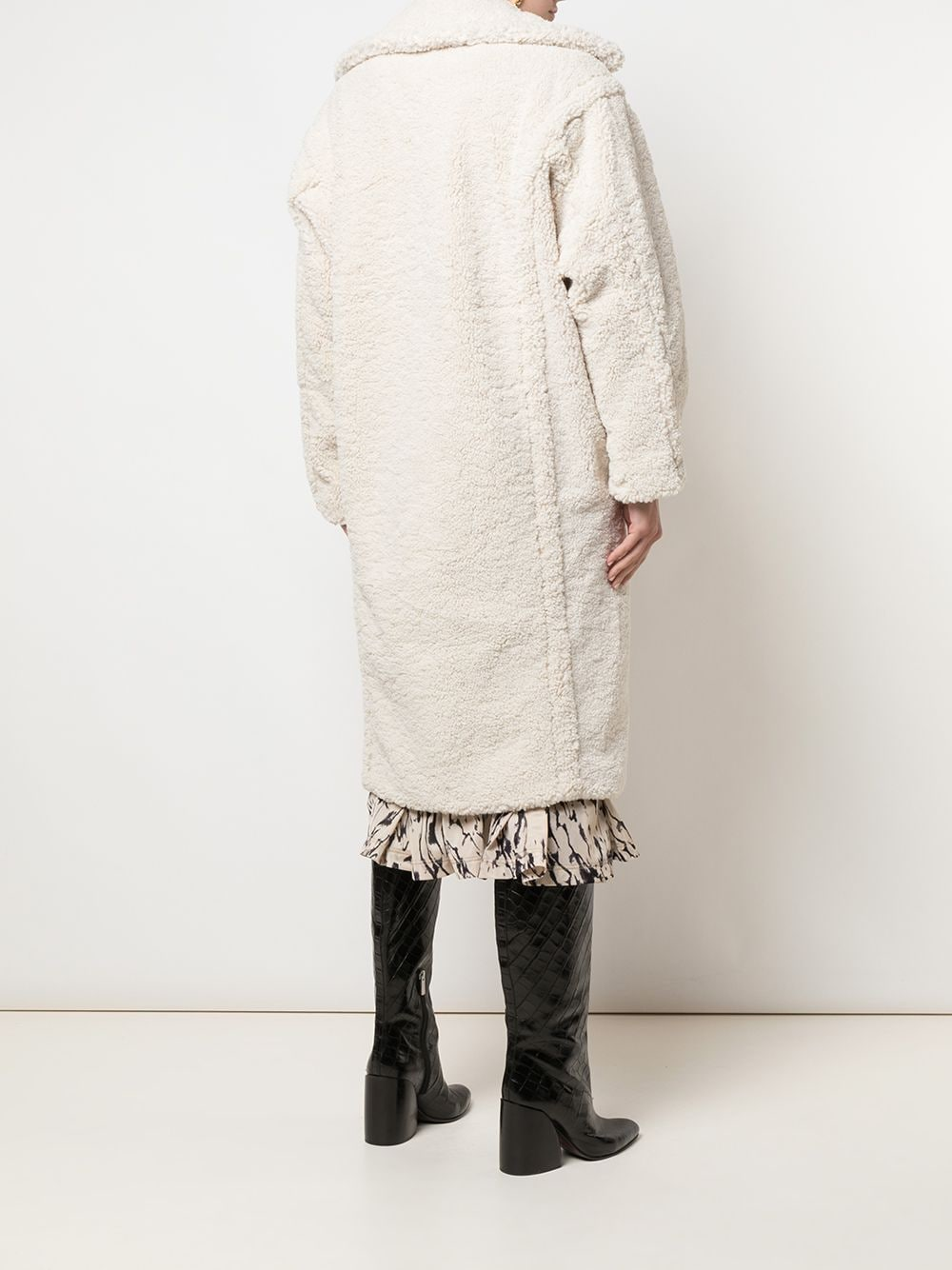 Apparis | Daryna Coat  - Ivory