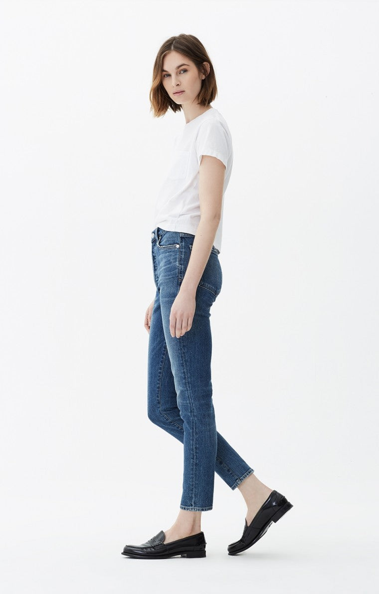 Citizens of Humanity | Olivia High Rise Slim Ankle - Solo