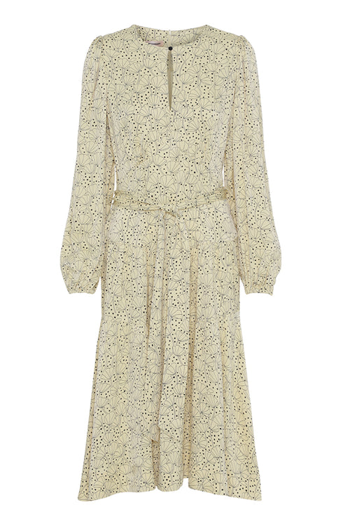 Custommade | Tulla Dress - Sunlight Yellow