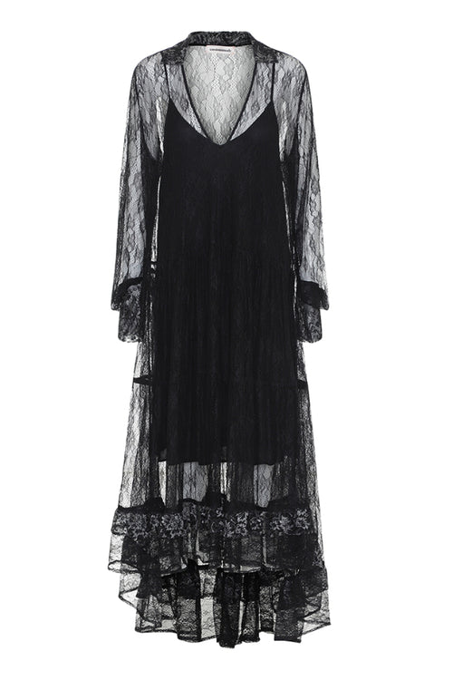 Custommade | Desire Dress - Anthracite Black