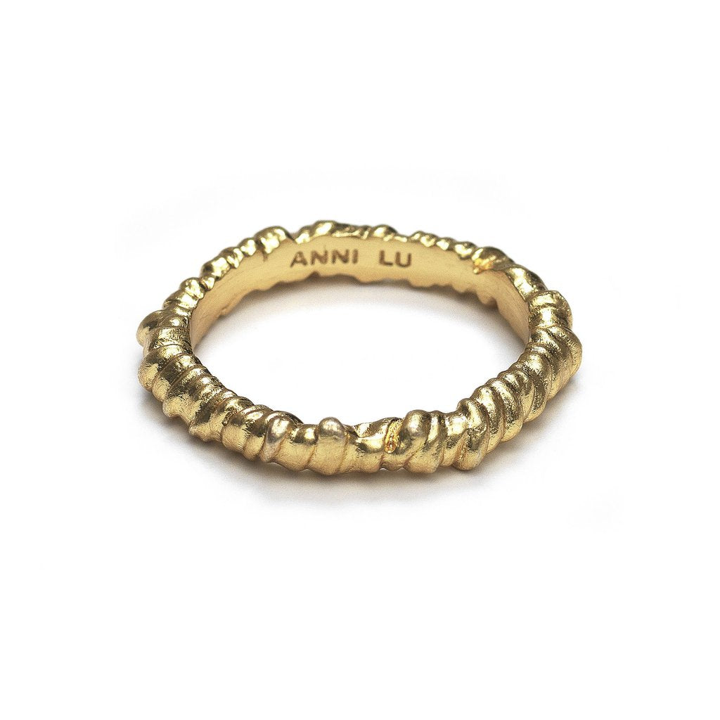 Anni Lu | Seaweed Ring - Gold