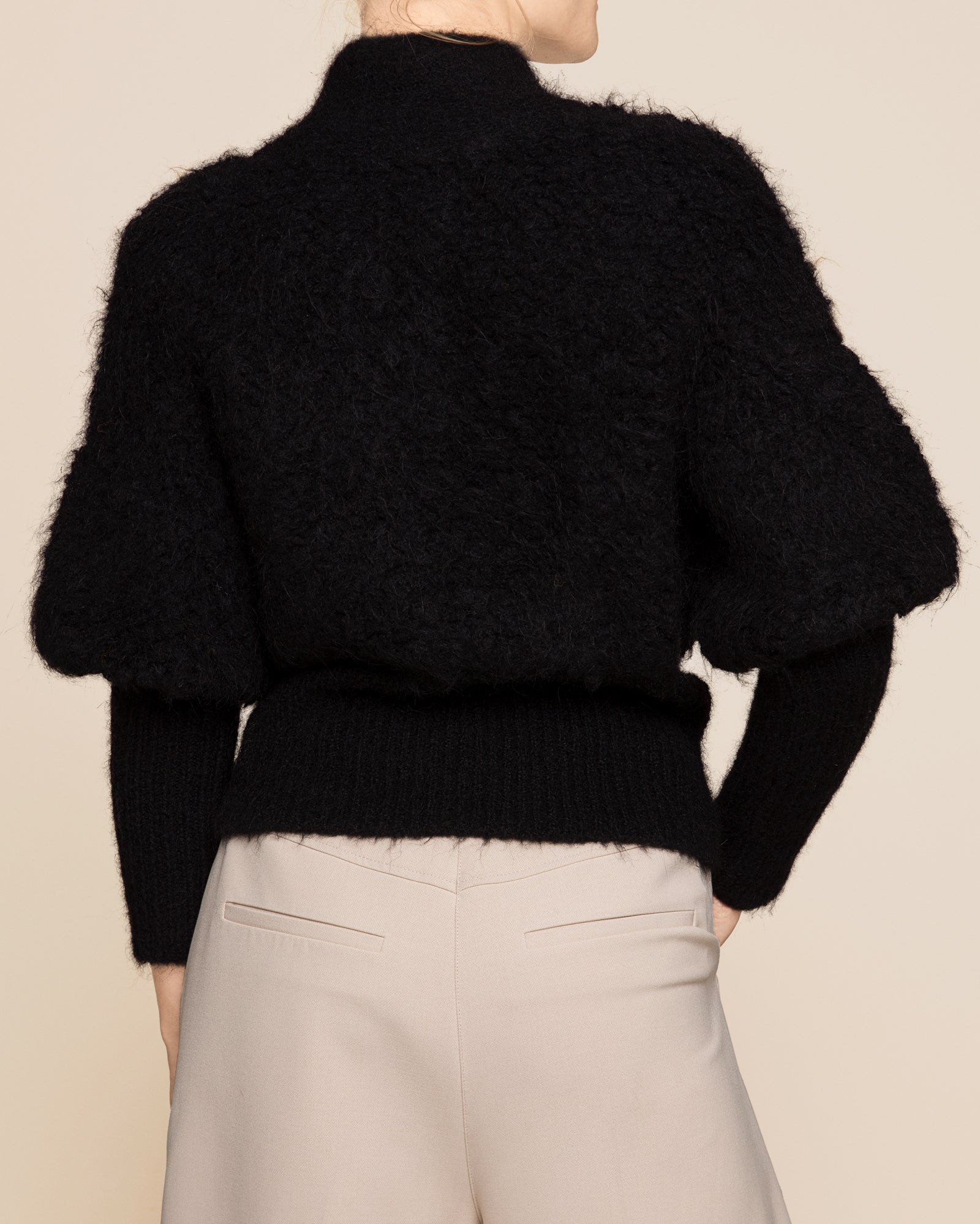ByTimo | Fluffy Hairy Knit Cardigan