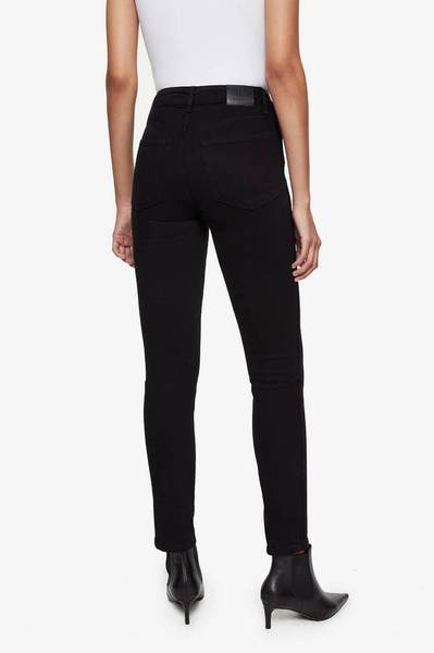 Anine Bing | Jagger Jean - Over Dye Black