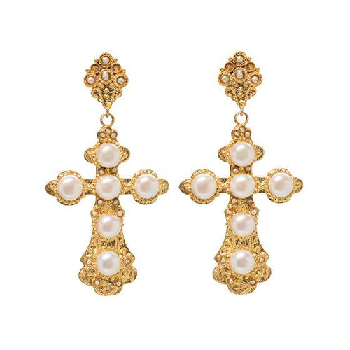 Christie Nicolaides | Nonia Earrings - Pearl