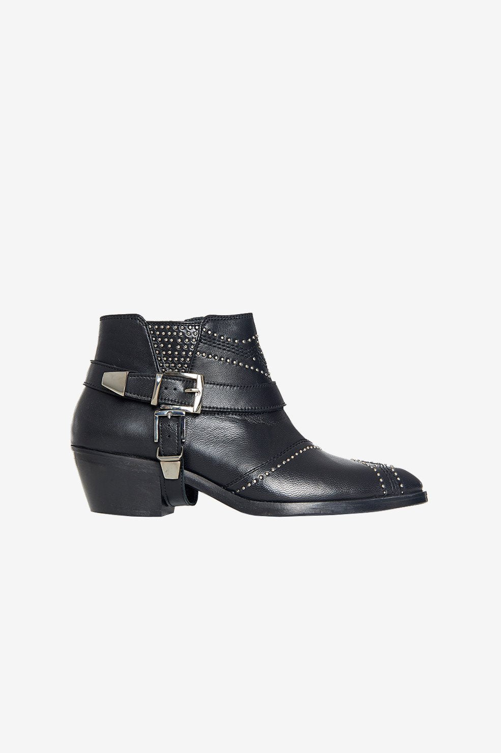 Anine Bing | Bianca Boots - Black & Silver
