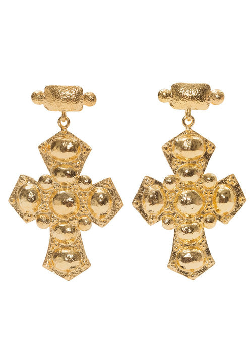 Christie Nicolaides | Agnes Earrings - Gold