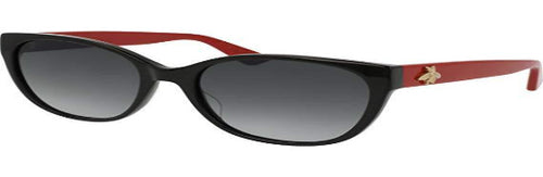 Gucci | Simple Black Frame w Red Arms with Bee