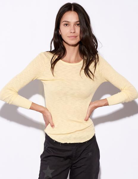 Sundry | Fitted Long Sleeve - Chamomile