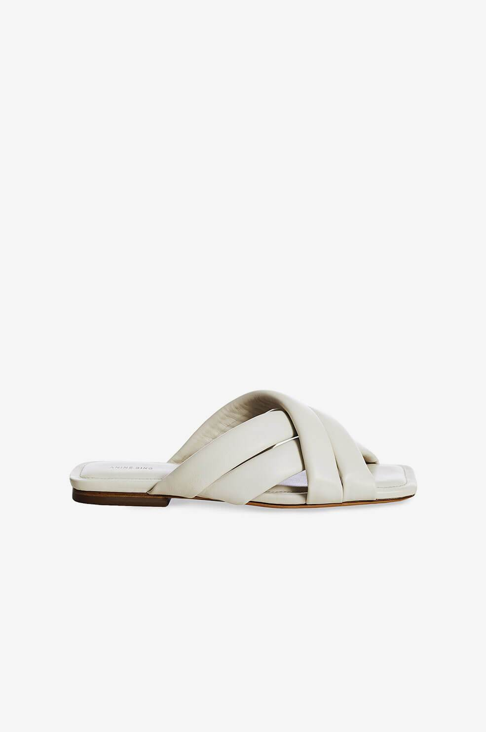 Anine Bing | Eve Sandals - Ivory