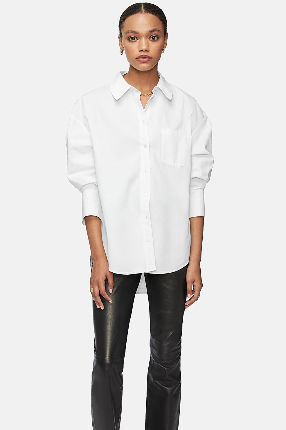 Anine Bing | Mika Shirt - White