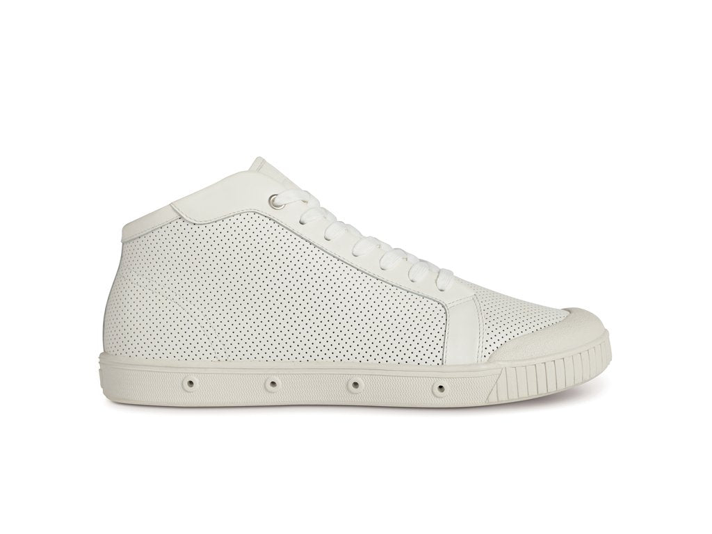 Spring Court | M2 Punch Nappa Mid - White
