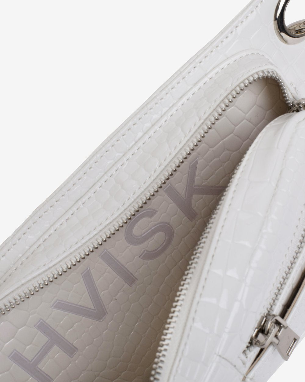 HVISK | Brillay Croco - White