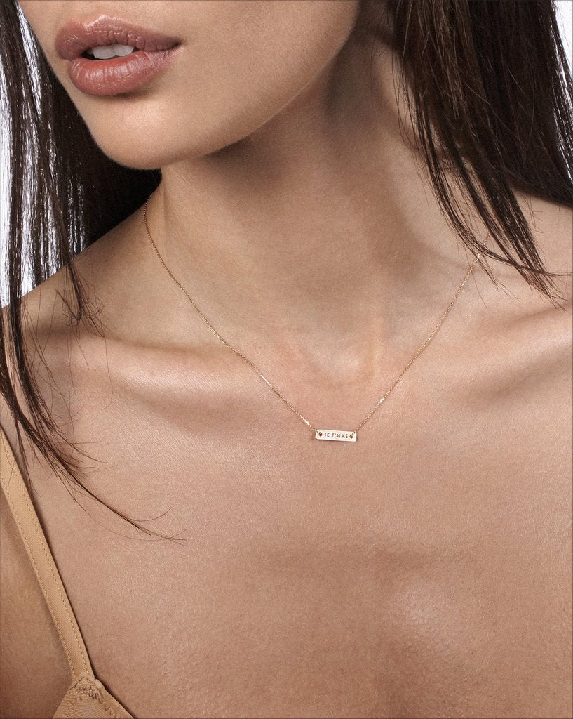 Vanrycke | Bonnie & Clyde Je T'aime Necklace