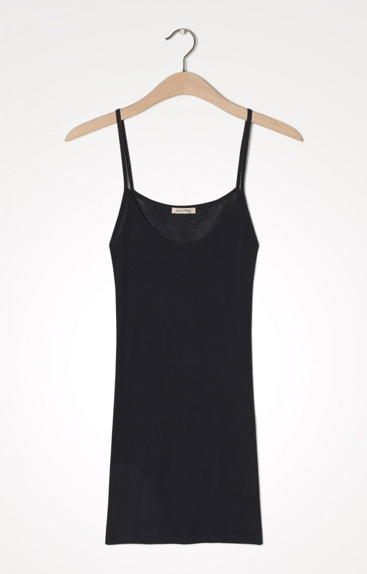 American Vintage | Massachusetts Thin Strap Tank - Black