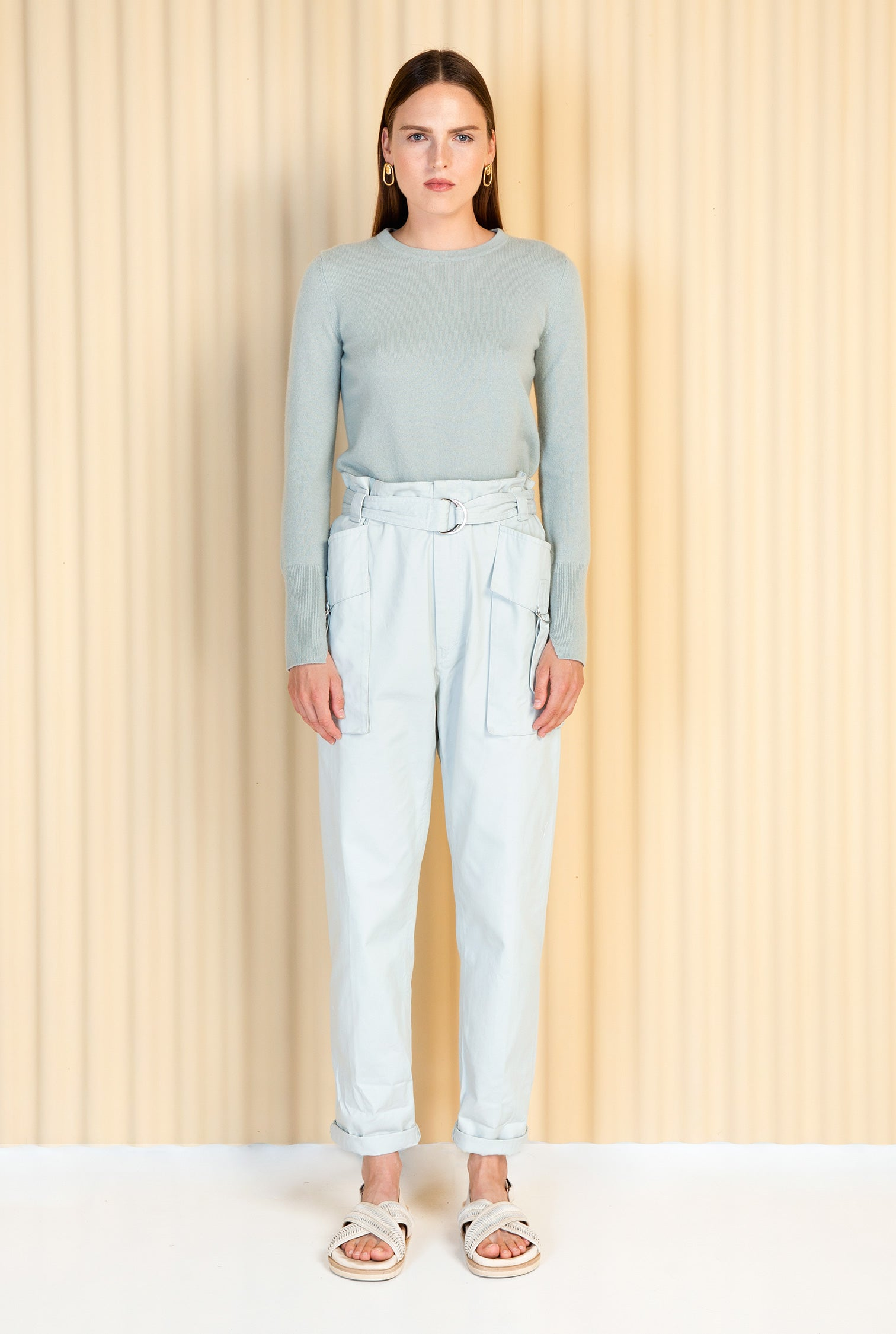 Magali Pascal | Naomi Pullover - Ice Blue