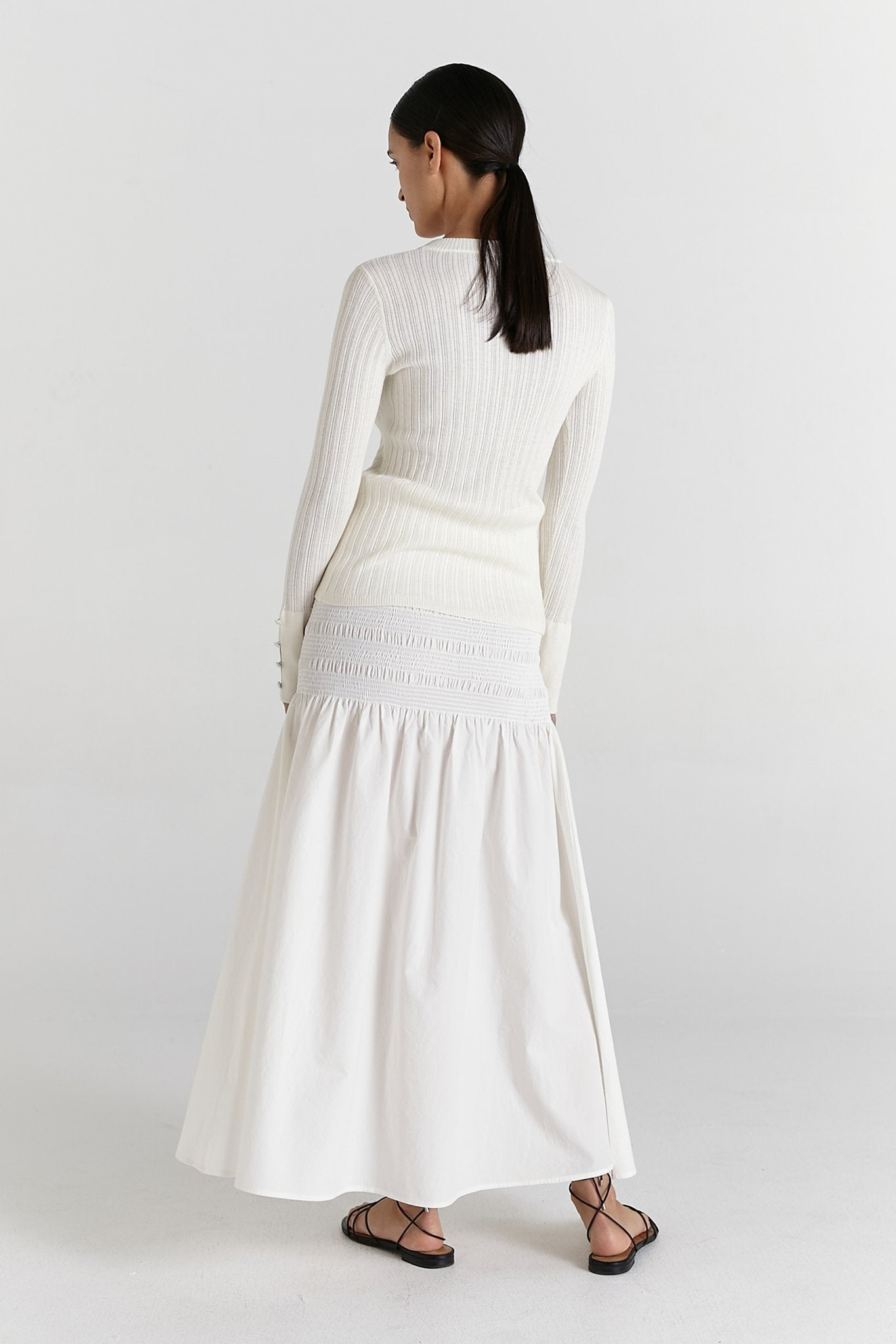 Marle | Janelle Skirt - Chalk