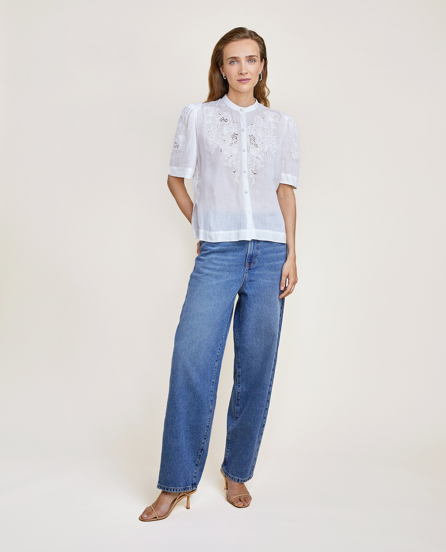 LCDP | Reina Blouse - Off White
