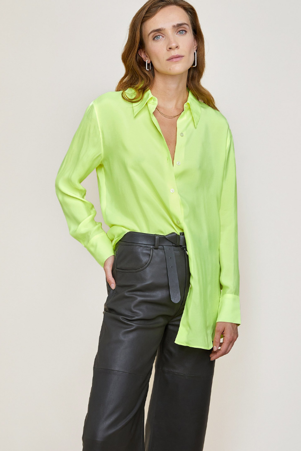 LCDP | Duy Blouse - Bright Yellow