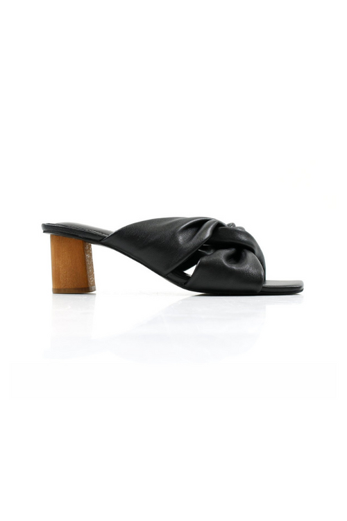 La Tribe | Twist Mule \ Black