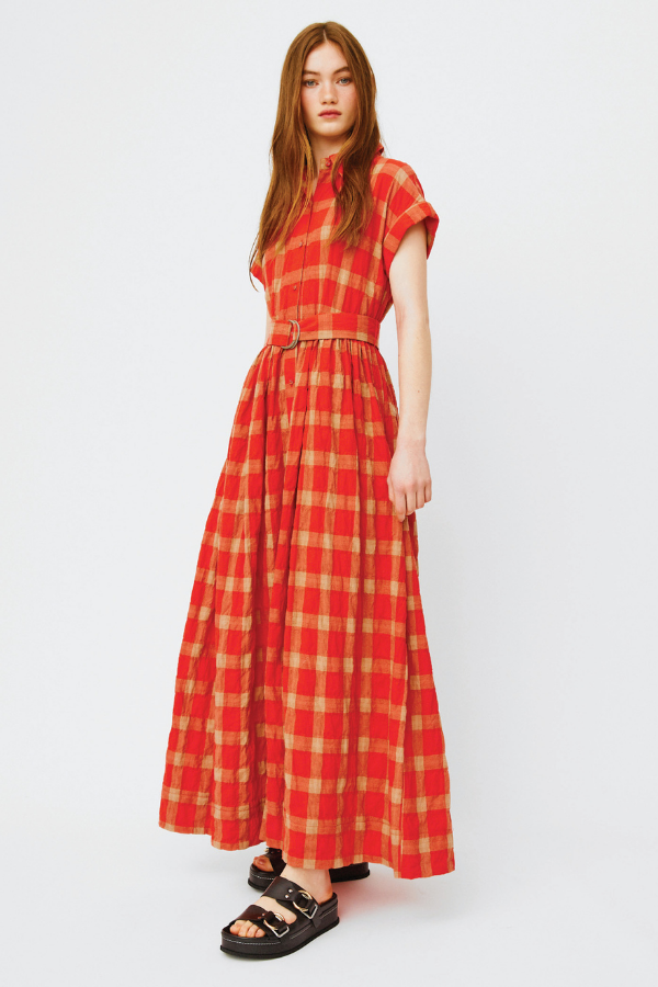 Morrison | Orla Shirt Dress - Red Check