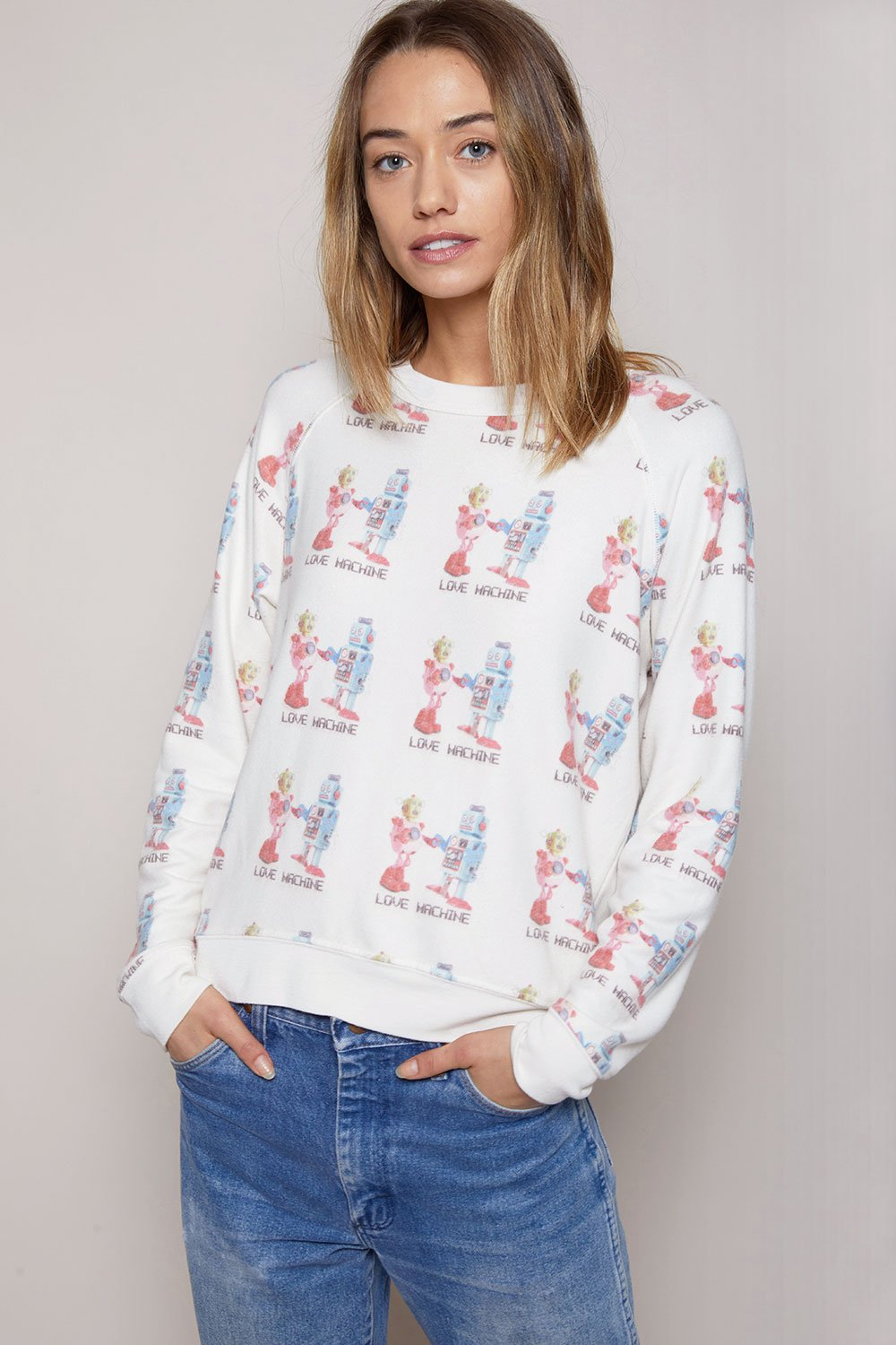 ATF | Love Machine Raglan Cozy Jumper