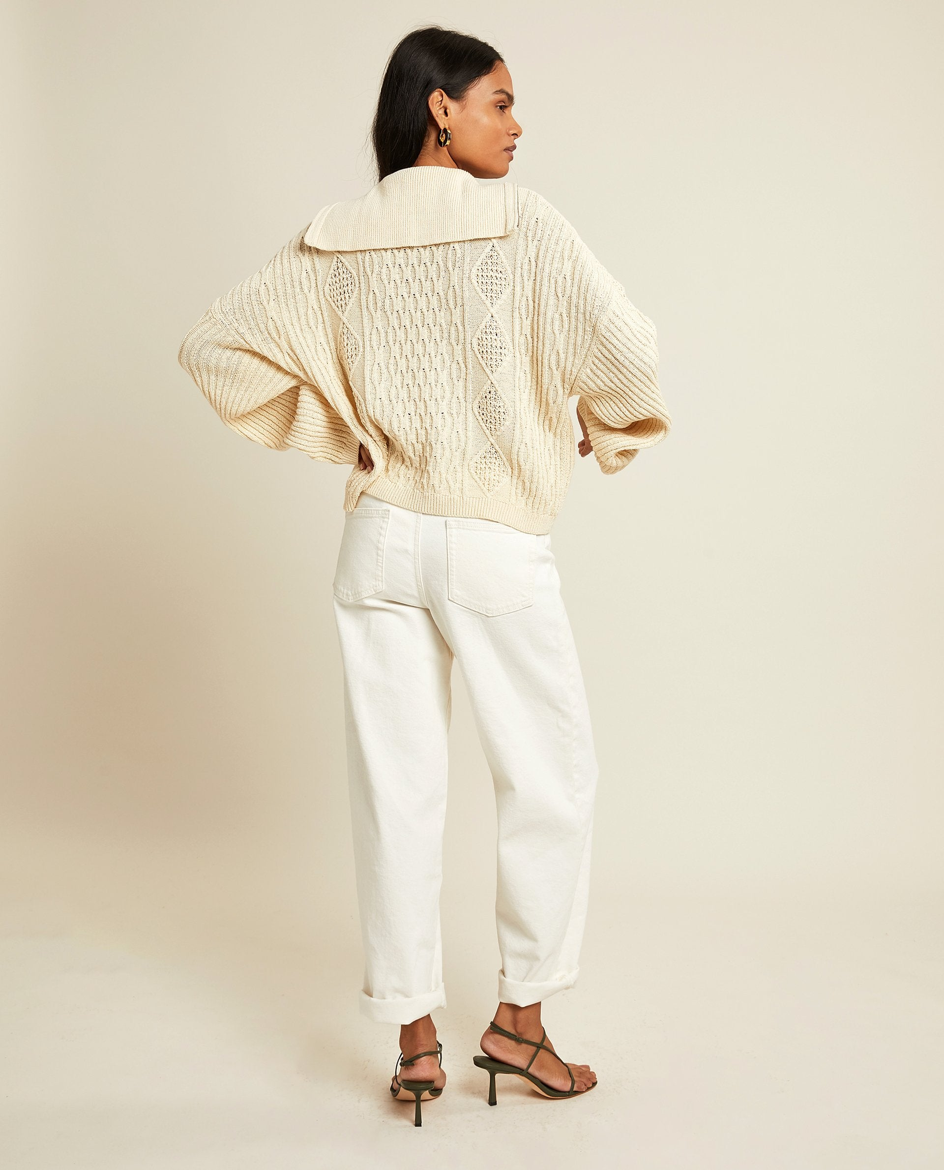 LCDP | Roisin Pullover - Off-White