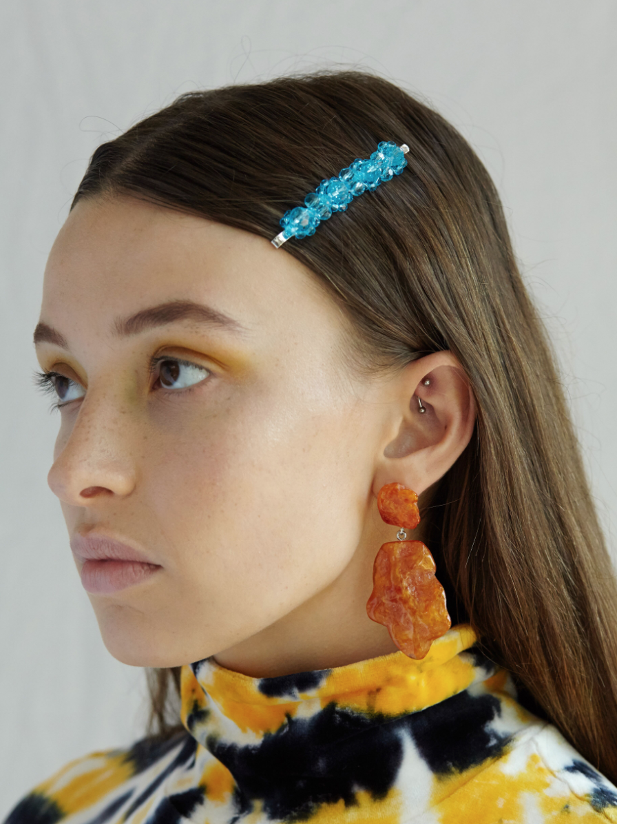 Valet Studio | Molly Earrings - Orange
