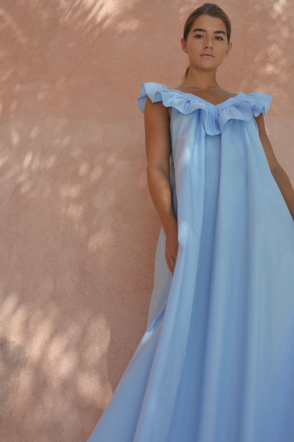 Paper London | 15 Dress - Cornflower Blue