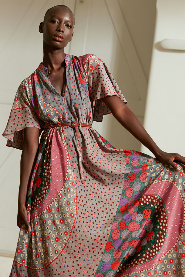Mes Demoiselles | Azalea Dress - Multi Colour