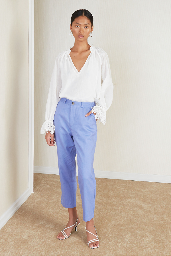 Magali Pascal | Axel Pants - Iris Blue
