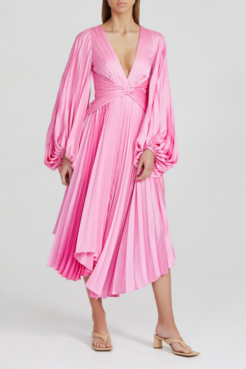 Acler | Palms Dress - Confetti Pink