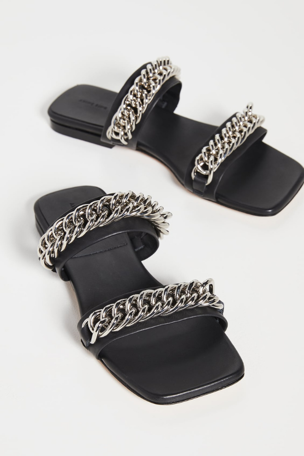 Anine Bing | Tony Sandals - Black
