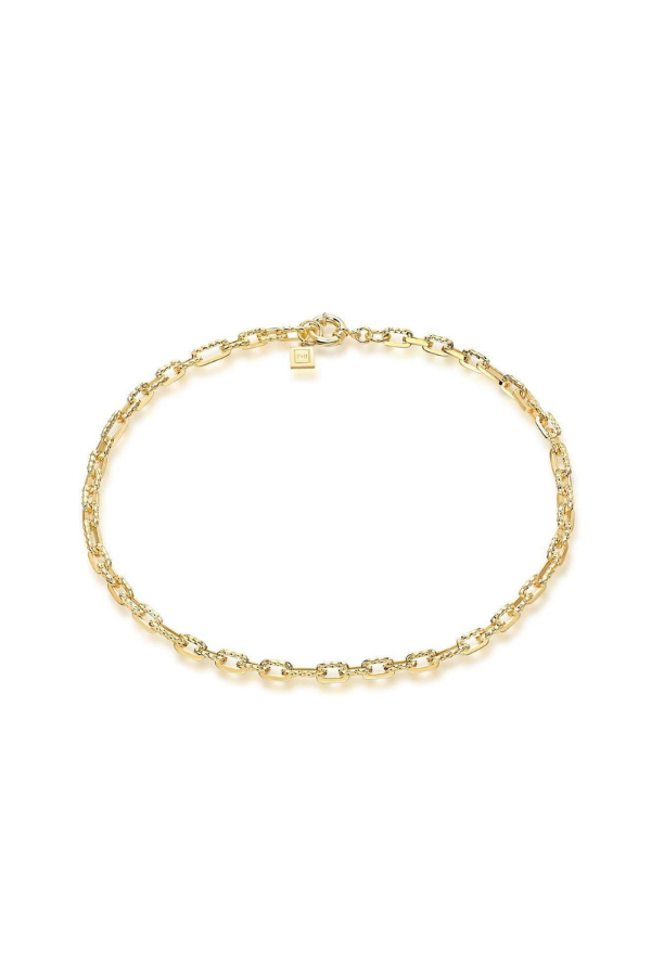 F+H | Ramones Hammered Chain Necklace