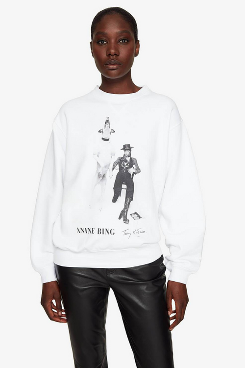 Anine Bing | Ramona Sweatshirt  AB X To David Bowie