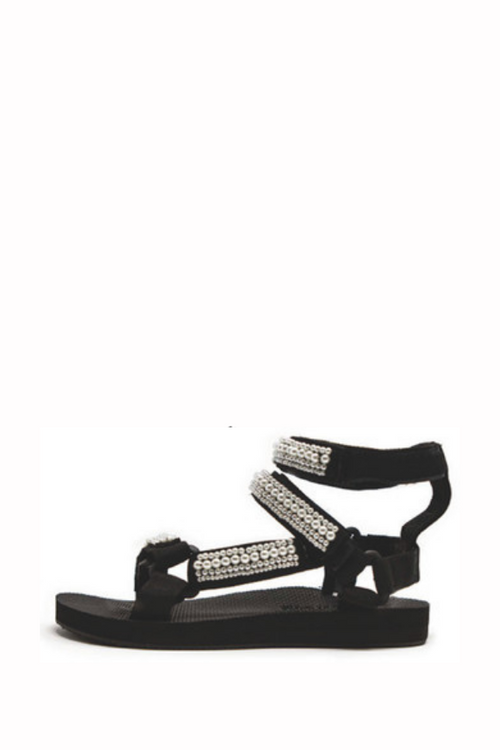 Arizona Love | Trekky Pearl Sandal - Double Anklet