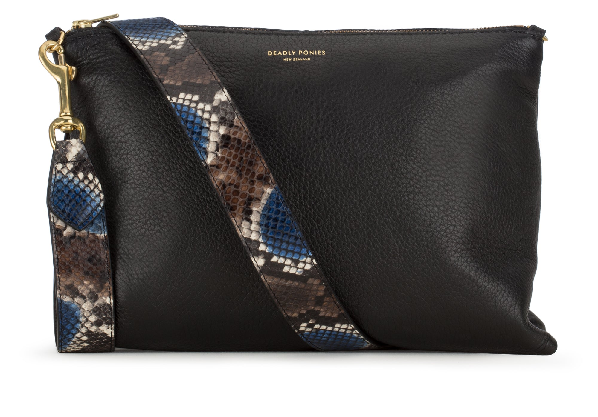 Deadly Ponies | Python Shoulder Strap