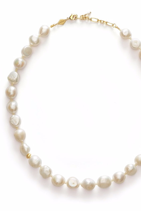 Anni Lu | Stellar Pearly Necklace - Gold