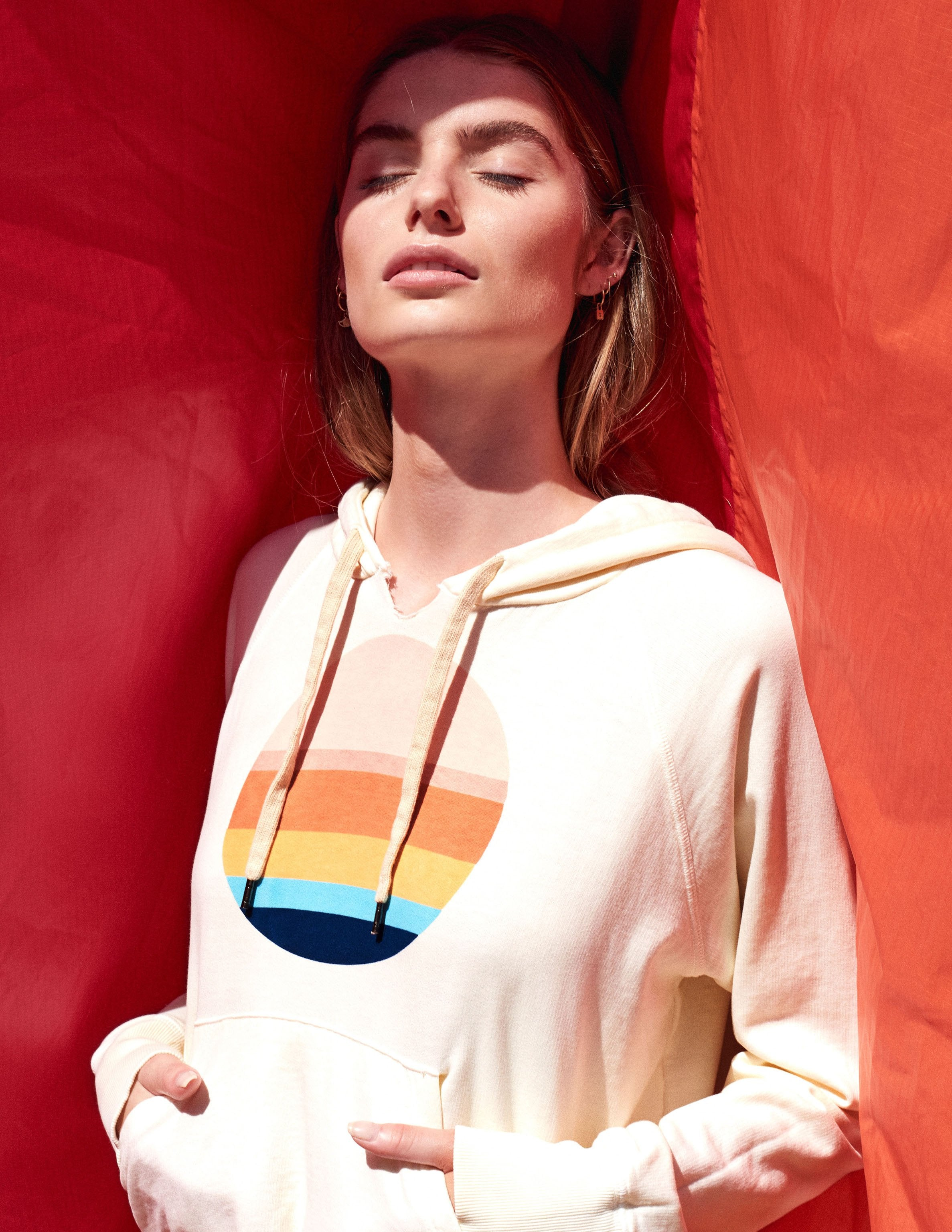 Sundry | Multicolor Circle Hoodie