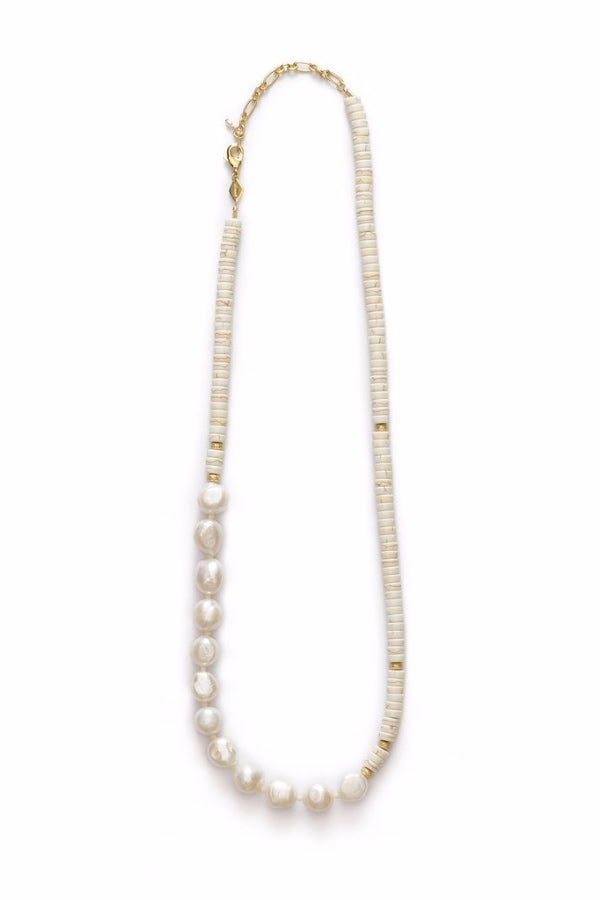 Anni Lu | Nomad Necklace - Cream