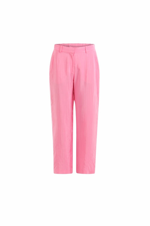 Coster | Pants With Straight Leg - Candy Pink